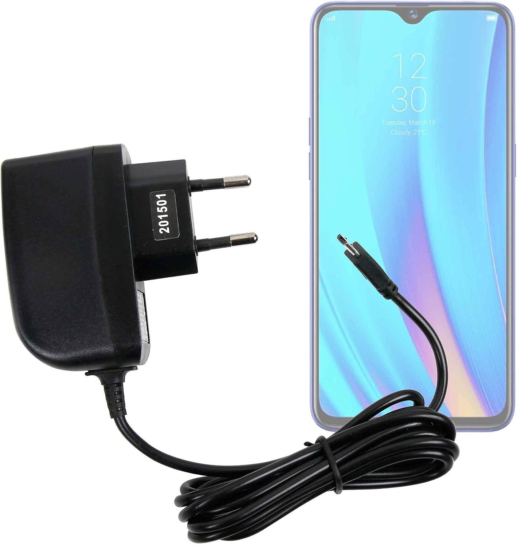 DURAGADGET Cargador (2 Amperios) para Smartphone Realme 3 Pro, LG ...