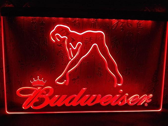 Exotic Dancer Strip Club Open LED Neon Light Sign