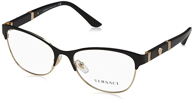 779beca0ddde1 Amazon.com  Versace Women s VE1233Q Eyeglasses 53mm  Clothing