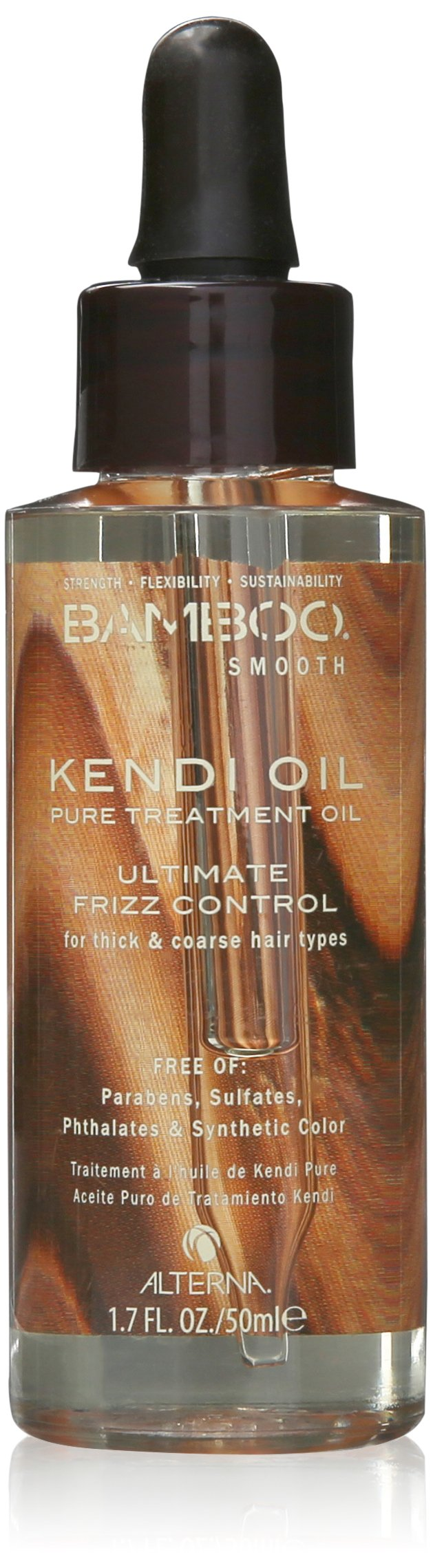 ALTERNA BAMBOO Smooth Pure Kendi Oil Pure Treatment Oil, 1.7 fl oz
