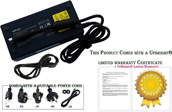 AC Adapter Power Supply charger for MSI Gaming Laptop GT62VR 6RD Dominator-078