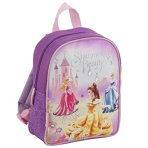 Disney - Mochila infantil (23 x 29 x 10 cm), diseño de princesas de Disney, color morado: Amazon.es: Equipaje