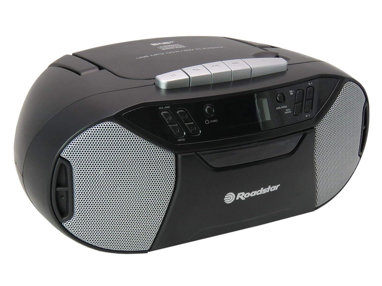 Roadstar RCR-777UD+ tocadisco - Tocadiscos (Tocadiscos de ...
