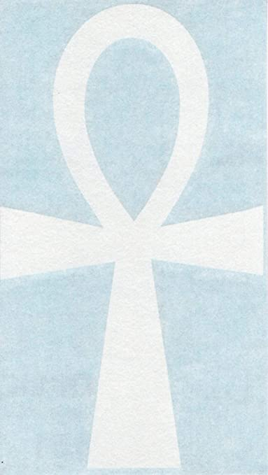 ANKH EGYPTIAN CROSS Car Windscreen Window Vinyl Decal Sticker 574