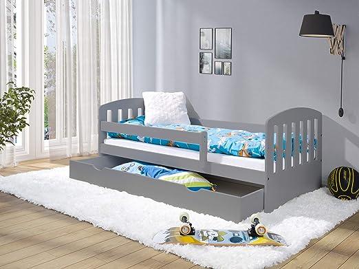 LULU MÖBEL LUKAS - Cama infantil completa con colchón y ...