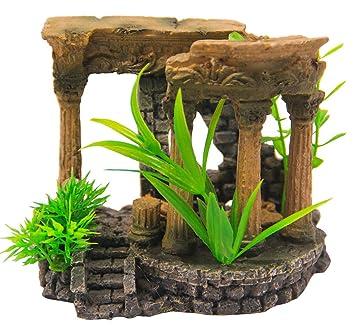 BPS® Decoración Acuario Ornamento Acuario Seguro para la Decoración de Tanque de Pez Fish Tank 10 x 13 x 7 cm BPS-6553: Amazon.es: Jardín