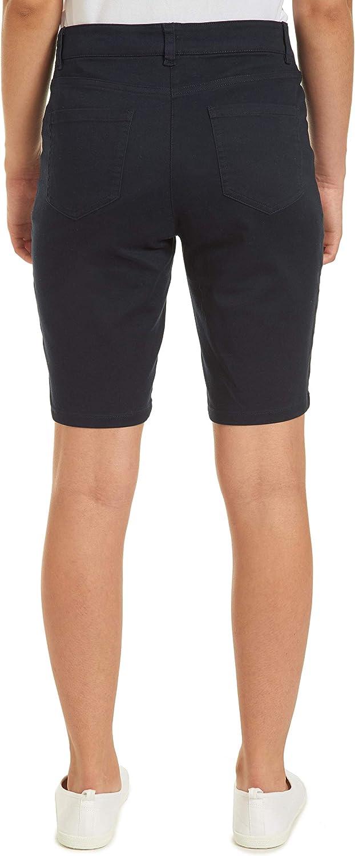 Choose SZ//color IZOD Junior/'s Uniform Skinny Bermuda Stretch Twill