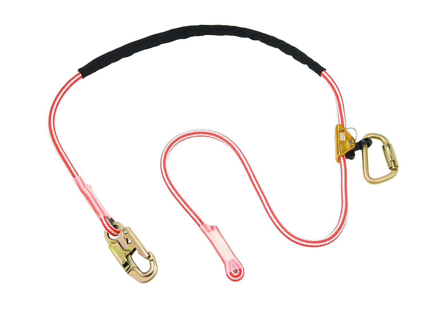 3M DBI-SALA Award-winning store Max 78% OFF 1234070 Adjustable Rope 8' Positioning Strap S with