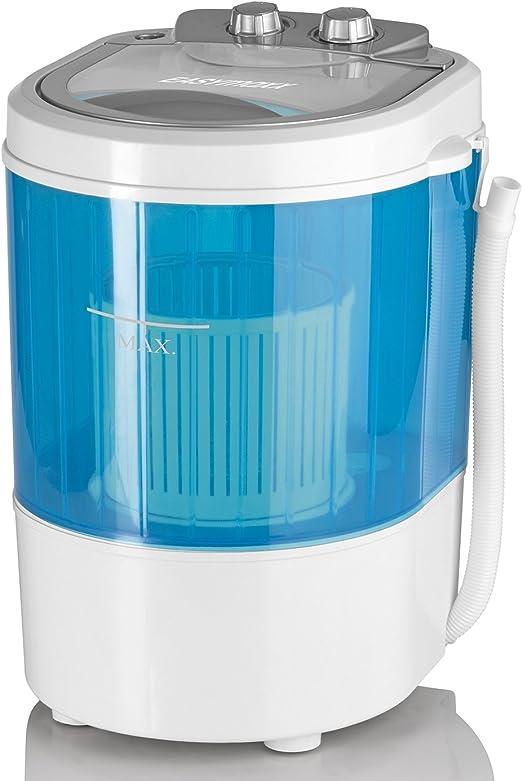 EASYmaxx 07475200125 - Lavadora (Portátil, Carga superior, Azul ...