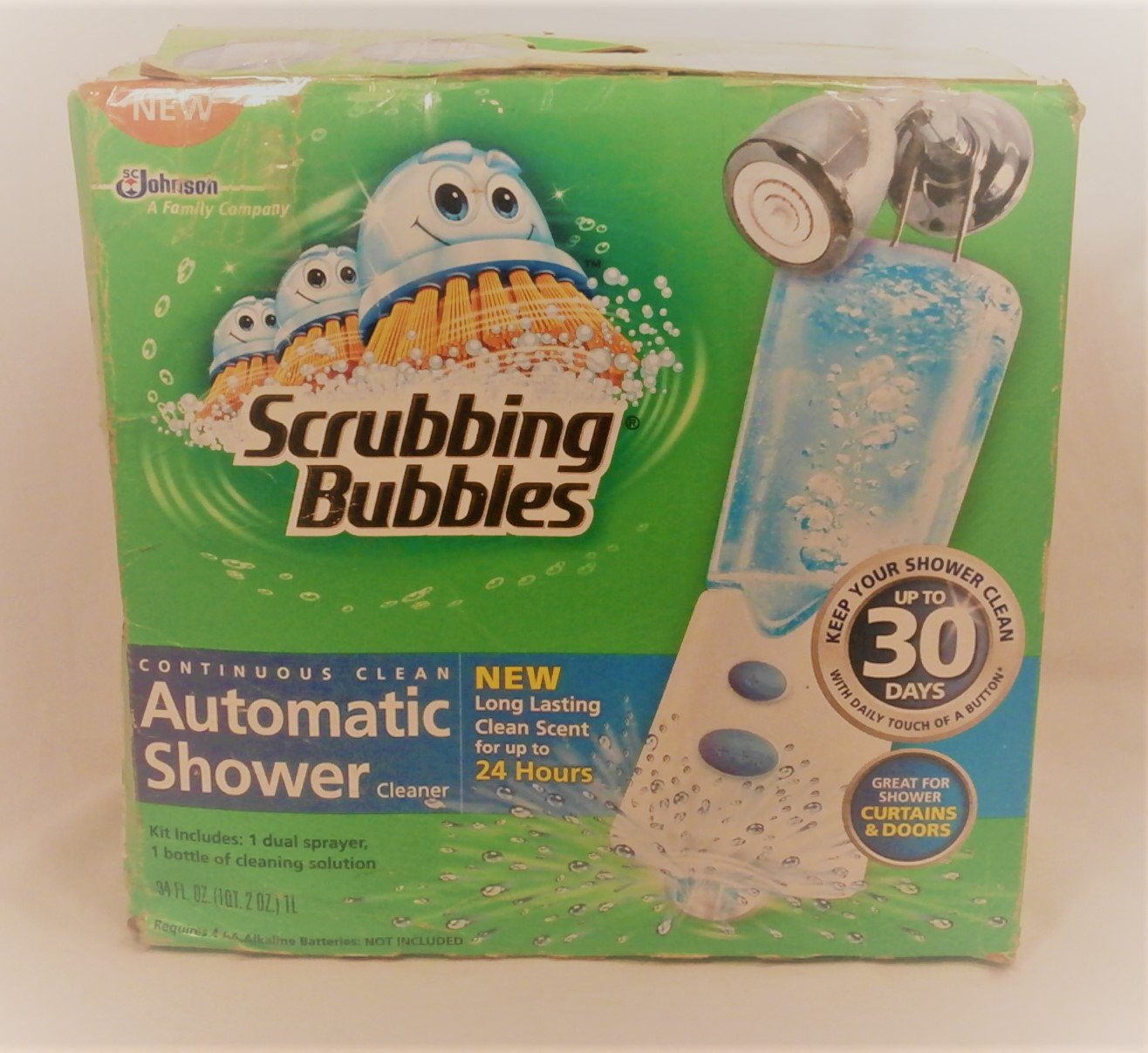 Scrubbing Bubbles 30 Days Continuous Clean Automatic Shower Cleaner 1 Refill by Scrubbing Bubbles (Image #2)