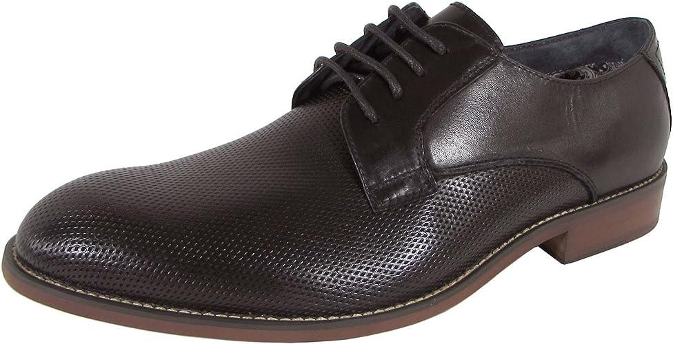 reacción Ballena barba rechazo  Amazon.com   Steve Madden Mens P-Isomer Oxford Lace Up Dress Shoes   Oxfords