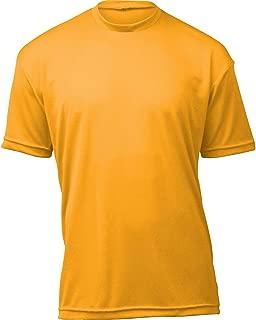 product image for WSI Microtech Loose Short Sleeve Shirt, Yellow Gold, Medium