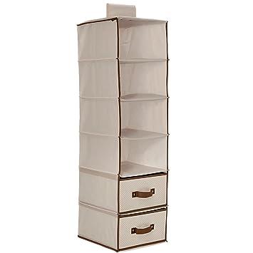 d99075b11f03 Amazon.com   Delta Children 6 Shelf Storage with 2 Drawers