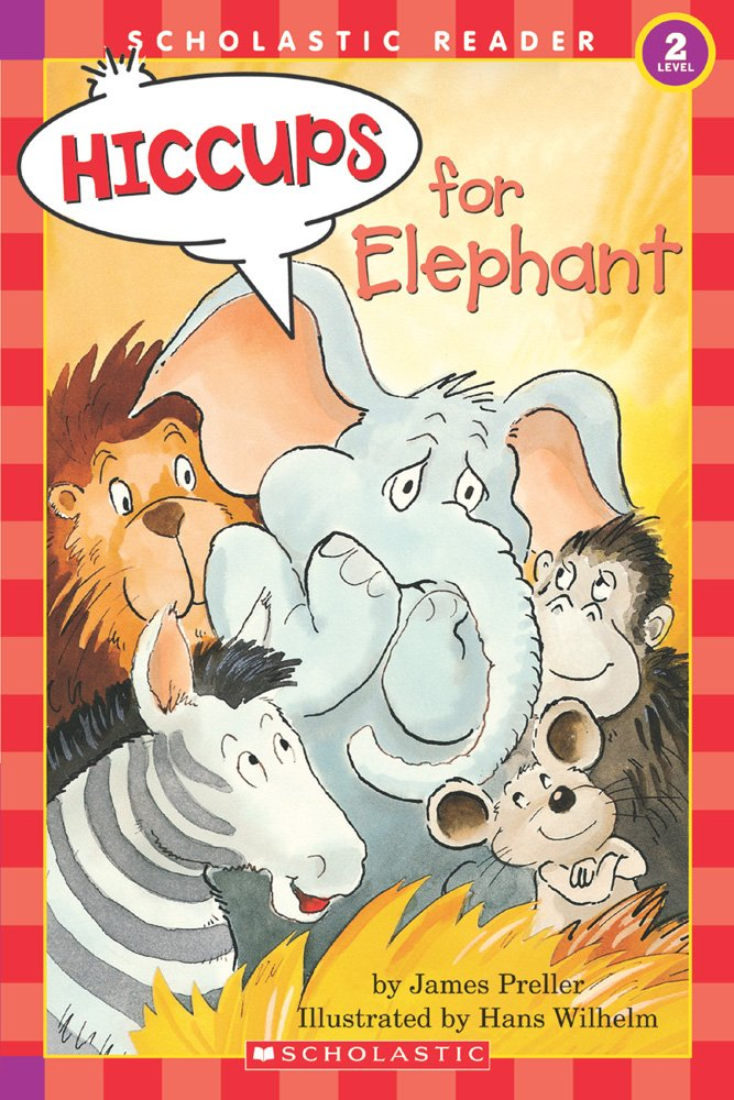 Hiccups Elephant level Hello Reader