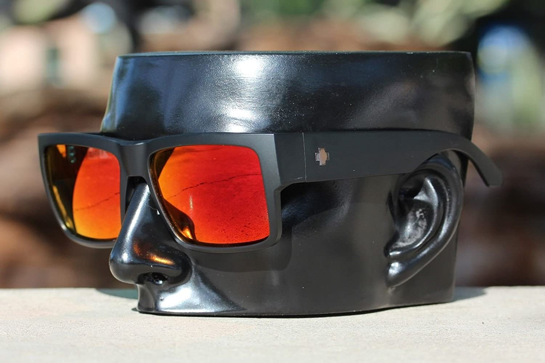 0b0e91c59cad7 Amazon.com  Polarized Ikon Iridium Replacement Lenses for Spy Cyrus  Sunglasses - + Red Mirror  Sports   Outdoors