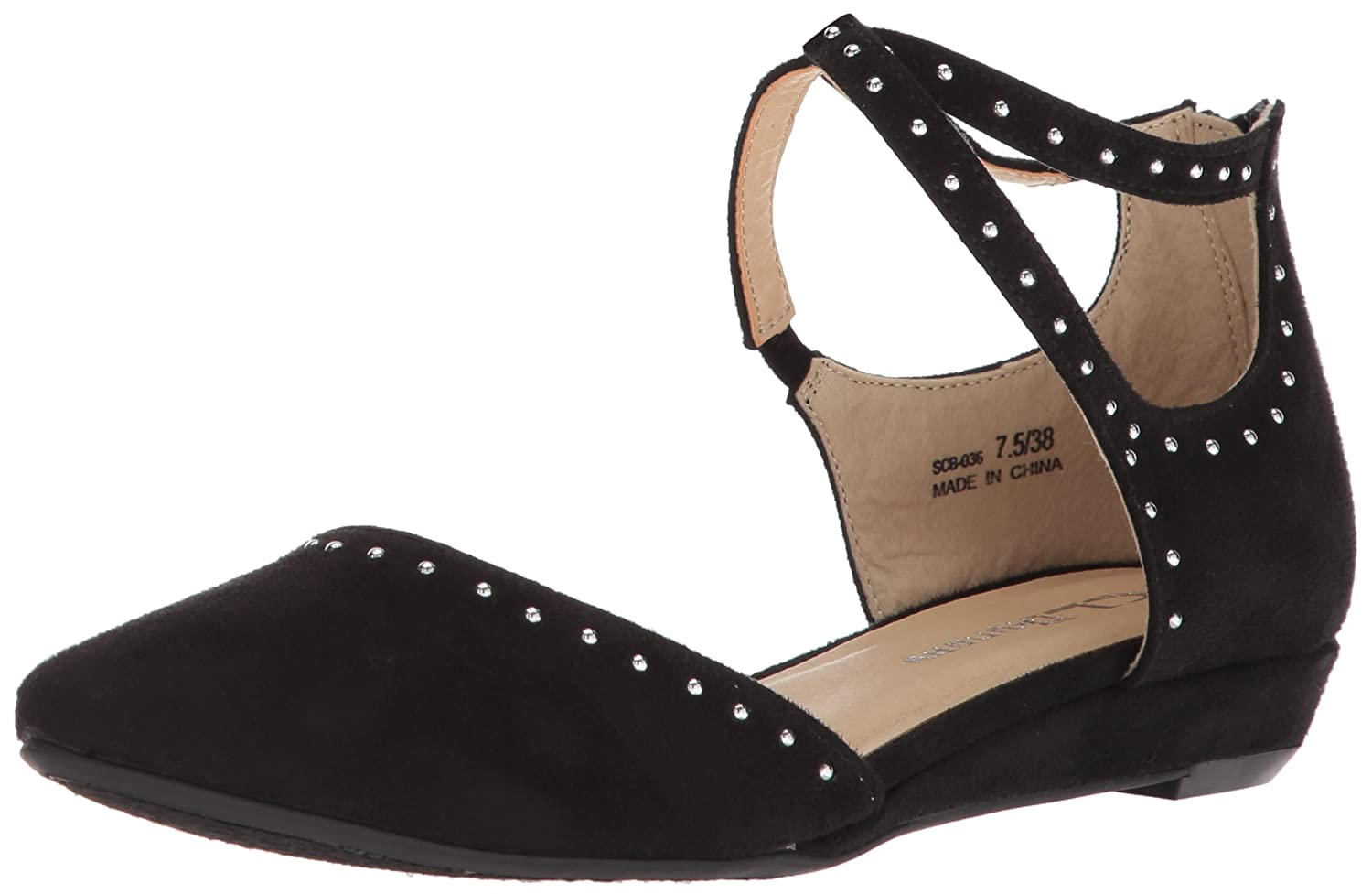 CL by Chinese Laundry Women's Smile Ballet Flat B076DHTWH8 7.5 B(M) US|Black Suede