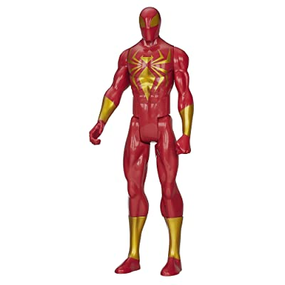 Marvel Ultimate Spider-Man Titan Hero Series Iron Spider Figure - 12 Inch: Toys & Games
