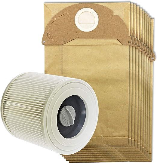 Spares2go bolsas de polvo y filtro de cartucho para aspiradoras ...