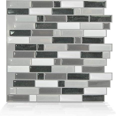 Amazon Com Smart Tiles Self Adhesive Wall Tiles Crescendo