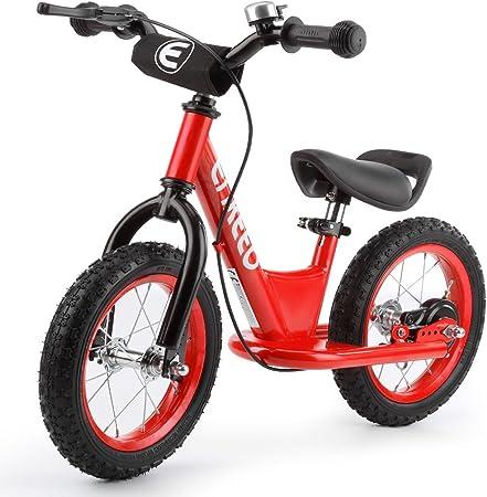ENKEEO Bicicleta sin Pedales para Niños, Bicicleta de Equilibrio ...