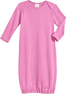 product image for 100% Cotton Baby Sleeping Bag Gown - Bubblegum Pink - 3/6 m