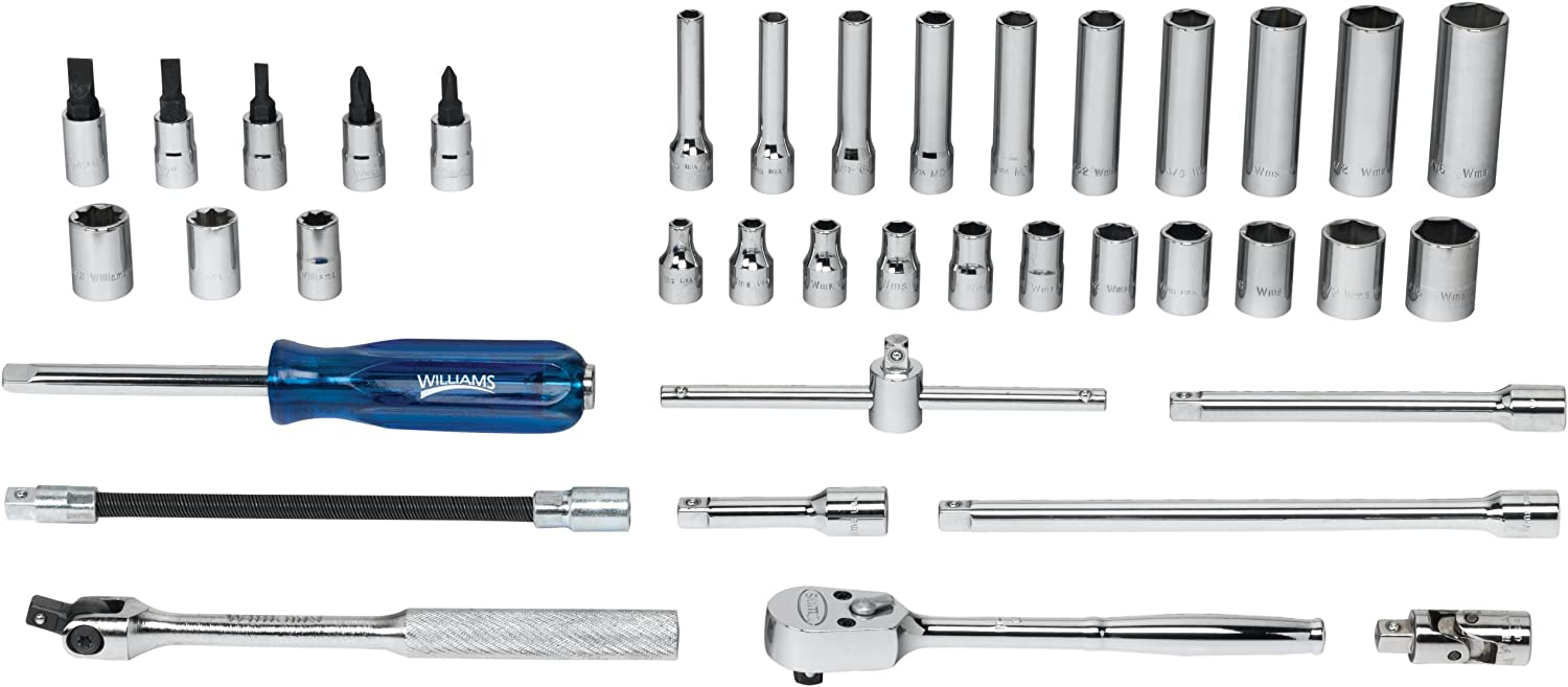 Williams WSM-38HFTB 38-Piece Selling 1 4-Inch and Socket Too Discount is also underway Drive