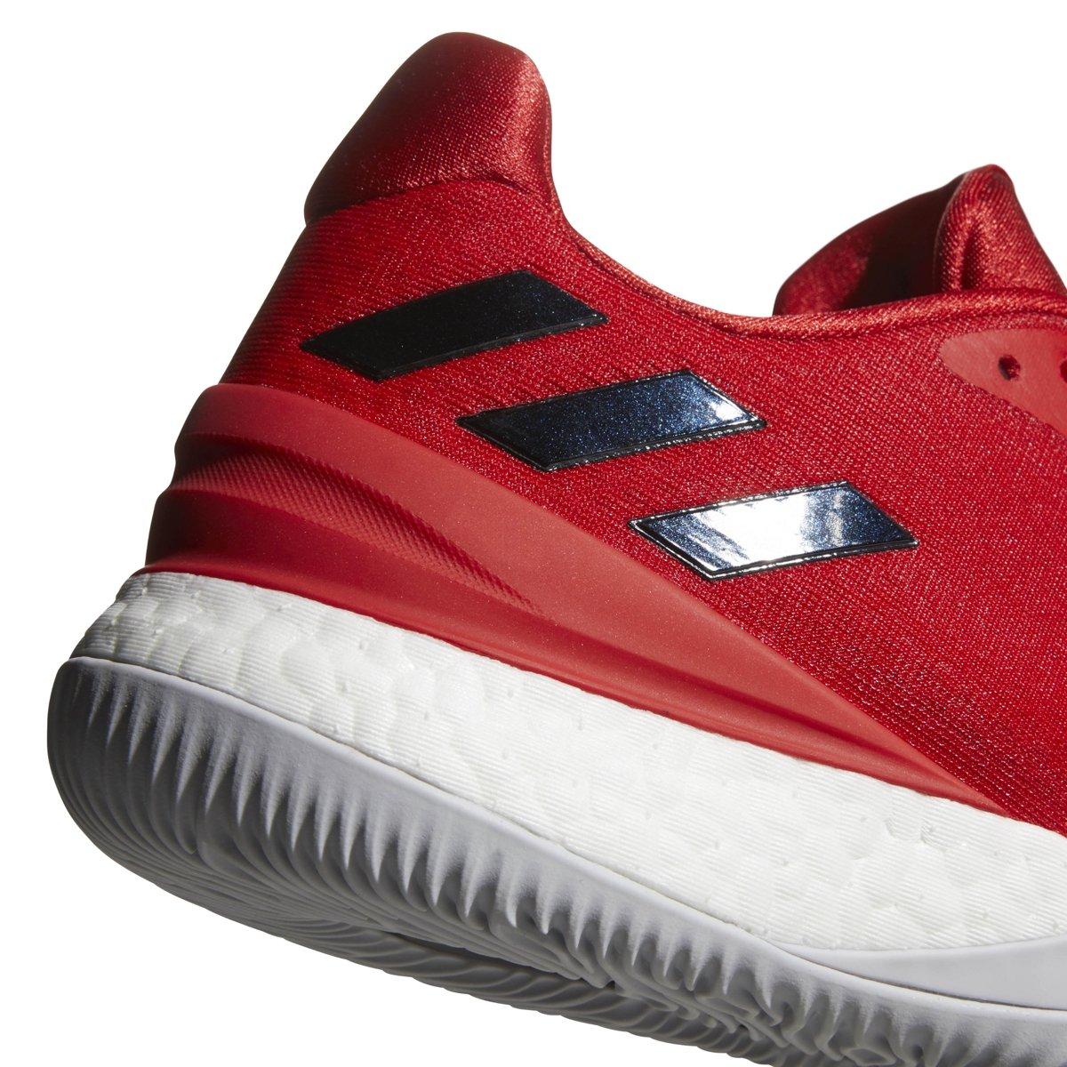 Amazon.com  adidas Men s Crazy Light Boost 2018 Basketball  CoreBlack White Carbon  Shoes 7155713f7