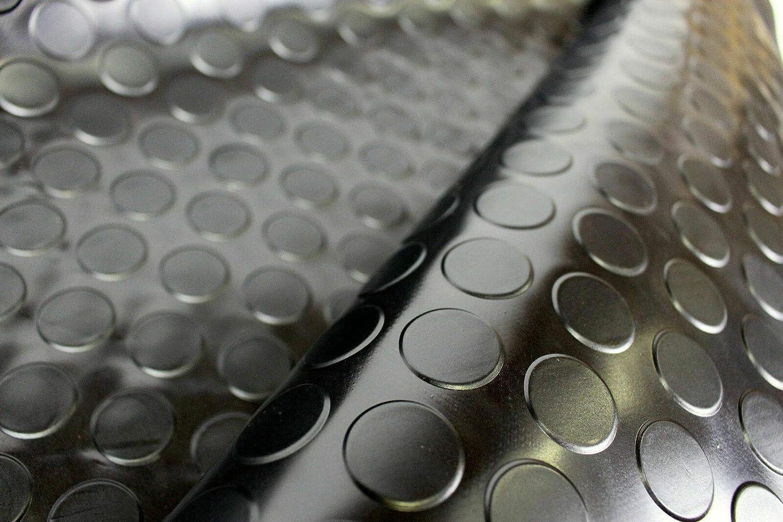 Alfombrilla de Goma Alfombra de Goma Antideslizante alfombras de Goma por Metro para la Industria en Varios Modelos y tama/ños Olivo Tappeti Suelo de Goma Aislante dise/ño de Burbujas