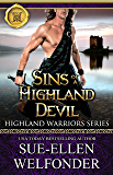 Sins of a Highland Devil (Highland Warriors Book 1)