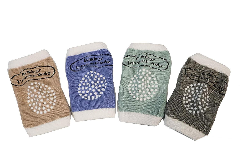 Z-Chen 4 Pairs Set Baby Knee Pads for Crawling Anti-Slip EU0182