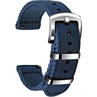 Ullchro Nylon Correa Reloj Calidad Alta Correa Relojes Militar del ejército - 18mm, 20mm, 22mm, 24mm Correa Reloj con…