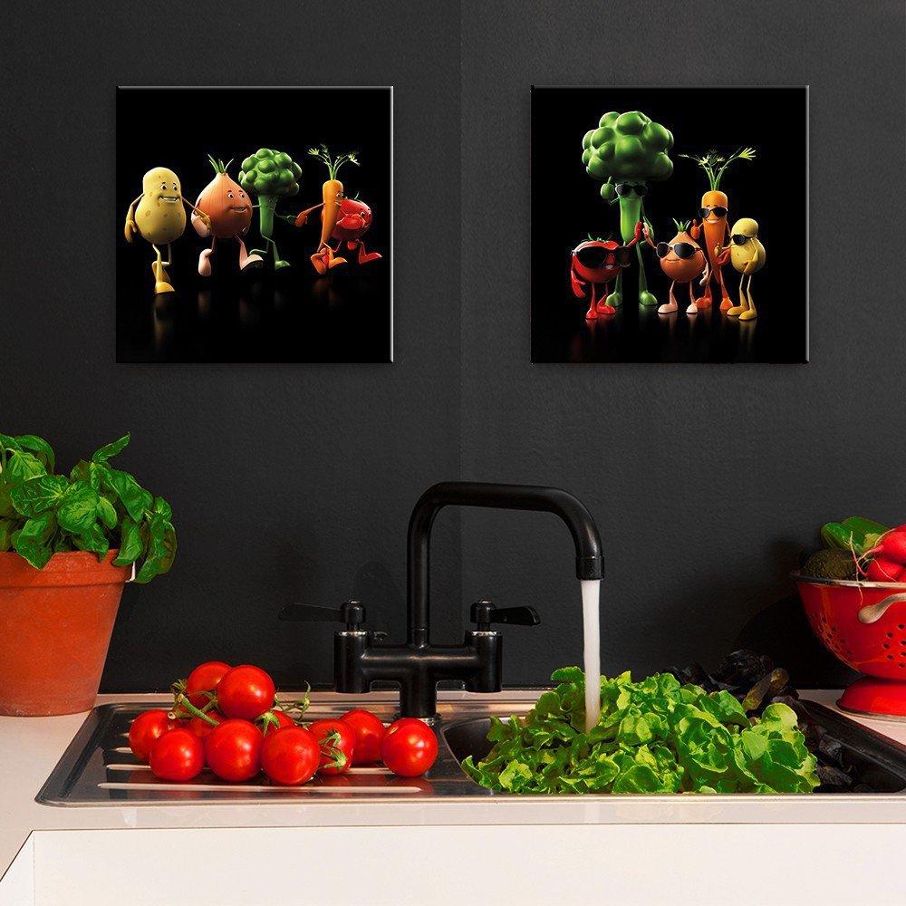 Bilder & Drucke Dekoration artissimo Glasbild 30x30cm Bild ...