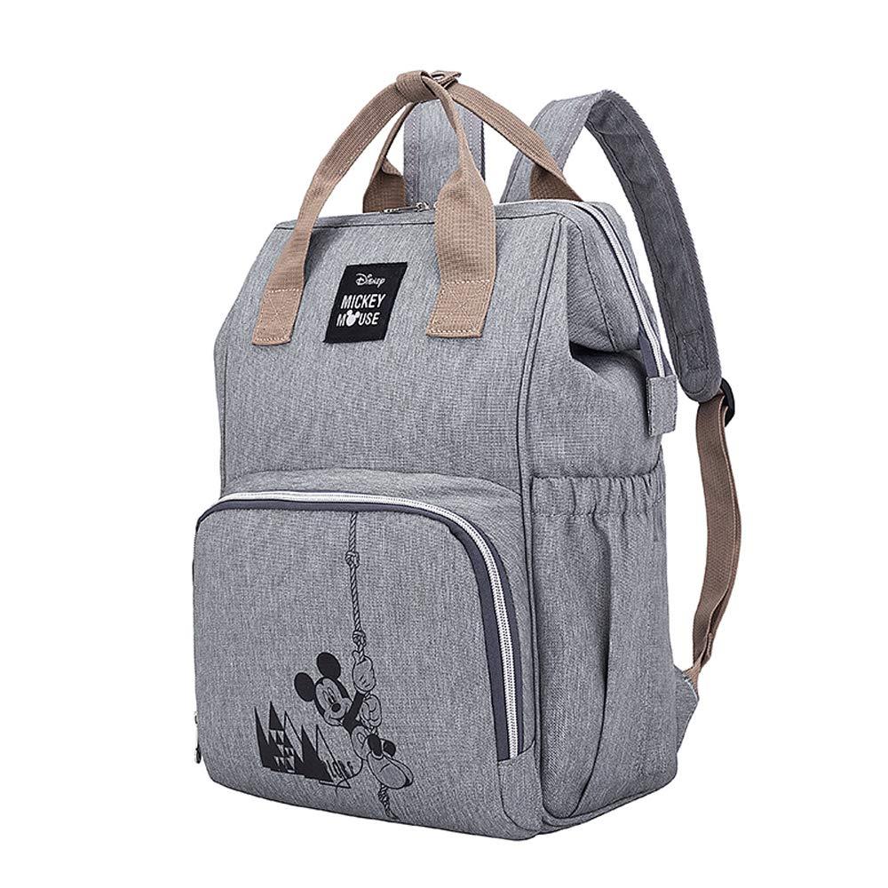 Amazon.com: Disney Mochila para pañales, bolsa de viaje ...