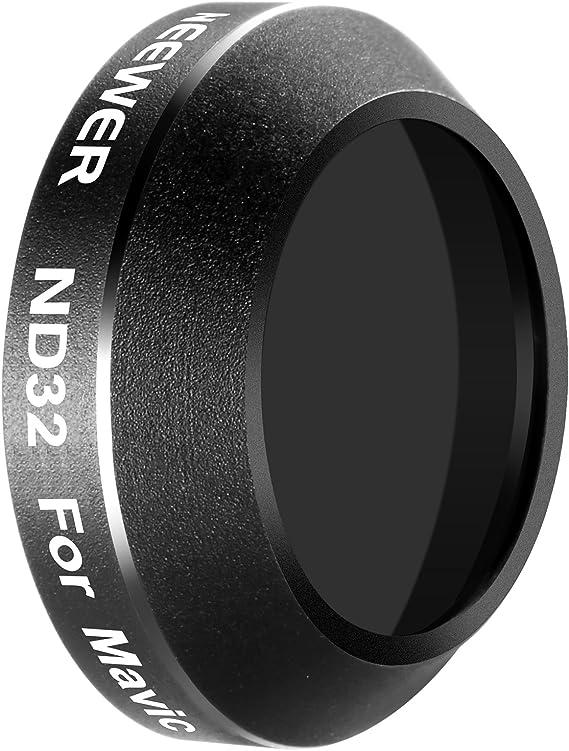 AMONIDA Lente Macro de Vidrio /óptico de aleaci/ón de Aluminio 16x para c/ámara Impermeable para Tomar fotograf/ías Filtro de c/ámara Deportiva