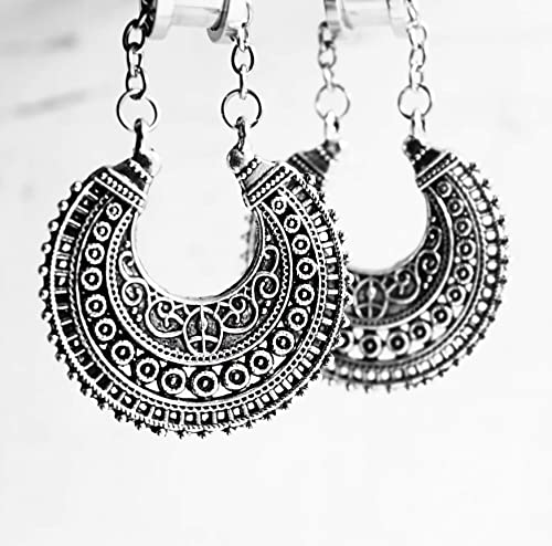 Earrings for tunnels Good as ear weights. gauges streached ears