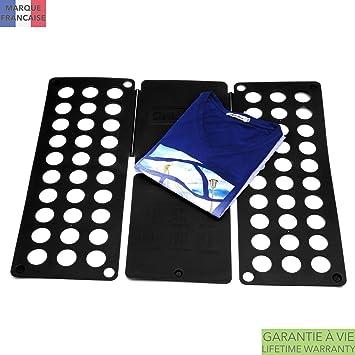 Takit Tabla para Doblar Ropa Negro - 70x59cm - Tabla para Doblar Camisas - Tabla para Doblar Vestidos Pantalones Toallas Camisetas/Organizador De Ropa: ...