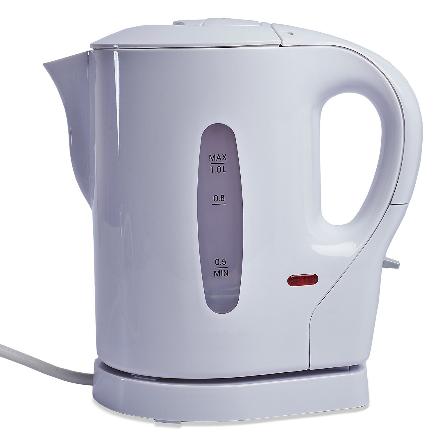 LIVIVO 1L Cordless Kettle in White Fineway UKASNHKTN10695