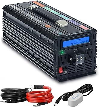 Spark 3000 watt Modified sine wave power inverter 12v 6000W peak