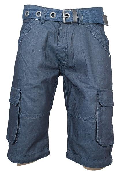 Amazon.com: Para hombre Zico Denim Combat pantalones cortos ...
