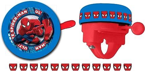Timbre Ring Niño Niña Infantil compatible con Spiderman a Manillar ...