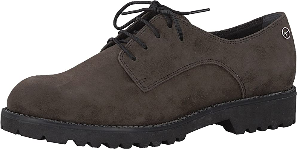 Details zu Tamaris Damen Schuhe Schnürschuhe Freizeitschuhe Halbschuhe Blau Lack Gr 40