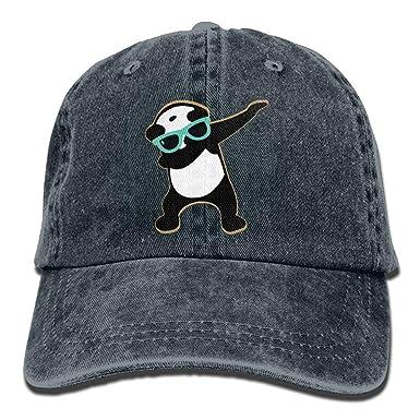 ACATCONDY Buyiyang-01 Panda Dab Dabbing Denim Jeanet Gorra de ...
