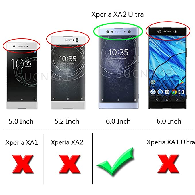 Amazon.com: Sony Xperia XA2 Ultra funda, Suensan Tpu ...