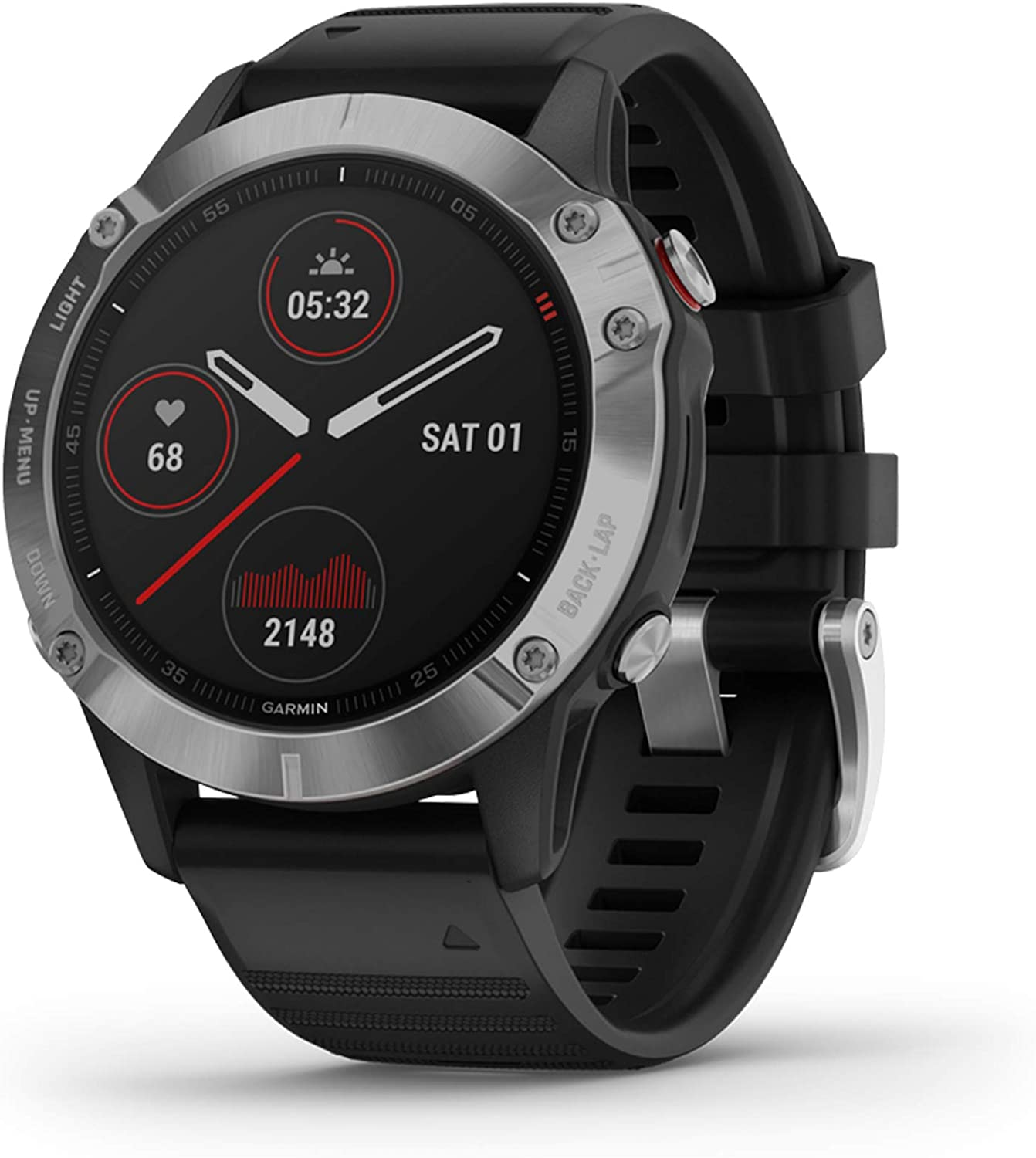 Garmin Fenix 6, Premium Multisport GPS Watch