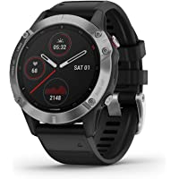 Garmin Fenix 6, Premium Multisport GPS Watch, Heat and Altitude Adjusted V02 Max, Pulse Ox…
