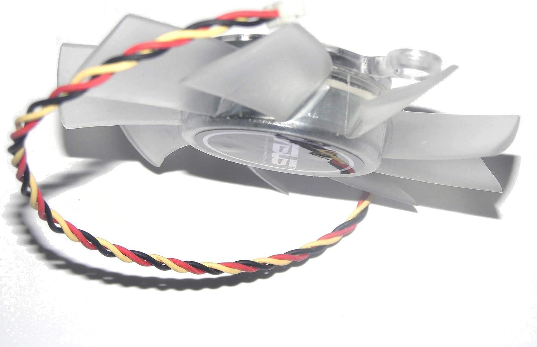 zyvpee R128015SH Ventilador para Tarjeta gráfica ASUS