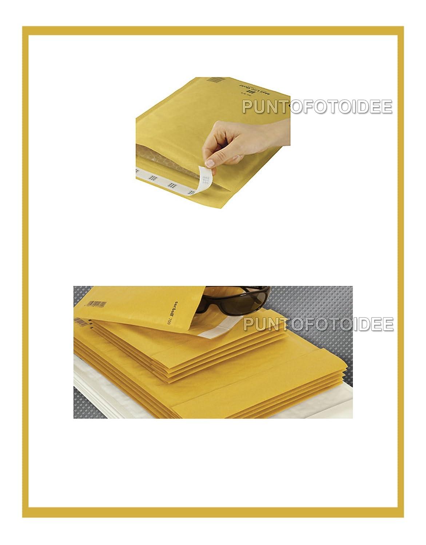 Conf 20 Buste imbottite a bolle daria MAIL LITE GOLD K//7 35x47 cm 20 pz.