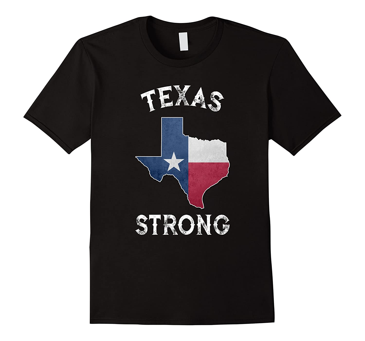 Strong State of Texas Flag T-Shirt-FL