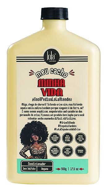 Amazon.com : Linha Meu Cacho Minha Vida Lola - Condicionador 500 Gr - (Lola My Cyrls, My Life Collection - Conditioner Net 17.6 Oz) : Beauty