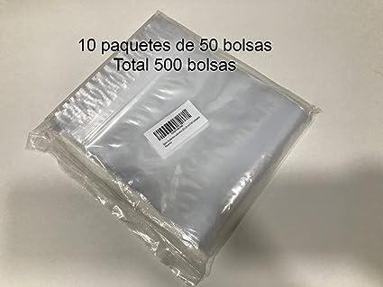 Bolsa de plastico autocierre 50 x 65 cm (500 Unidades ...
